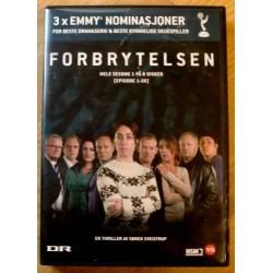 Forbrytelsen: Sesong 1 - 8 x (DVD)
