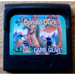 SEGA Game Gear: Donald Duck - The Lucky Dime Caper