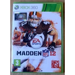 Xbox 360: Madden 12 NFL (EA Sports)
