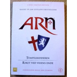 2 x Arn - Tempelridderen og Riket ved veiens ende (DVD)