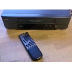 Sanyo - VHR-756EX - VHS - Videospiller med fjernkontroll