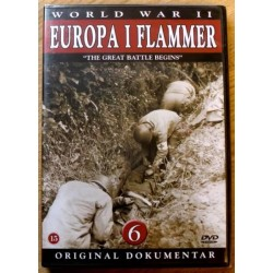 World War II: Europa i flammer: Nr. 6 (DVD) * NY *