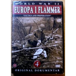 World War II: Europa i flammer: Nr. 4 (DVD) * NY *