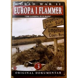 World War II: Europa i flammer: Nr. 3 (DVD) * NY *