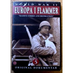 World War II: Europa i flammer: Nr. 5 (DVD) * NY *