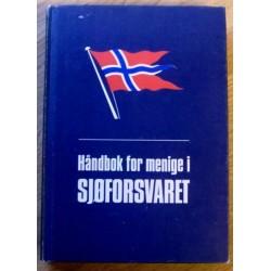 Håndbok for menige i Sjøforsvaret - 1973 - Blåboka