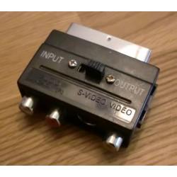 S-Video og composite til SCART adapter
