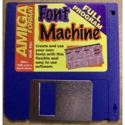 Amiga Format Disk Nr. 94A: Font Machine