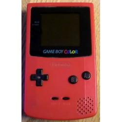 Nintendo GameBoy Color - Håndholdt spillkonsoll - Rosa