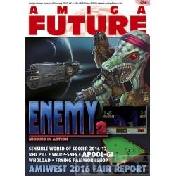 Datablad: Amiga Future: Januar/Februar 2017 - Nr. 124 med CD
